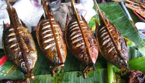 Cá nướng dân tộc Thái
