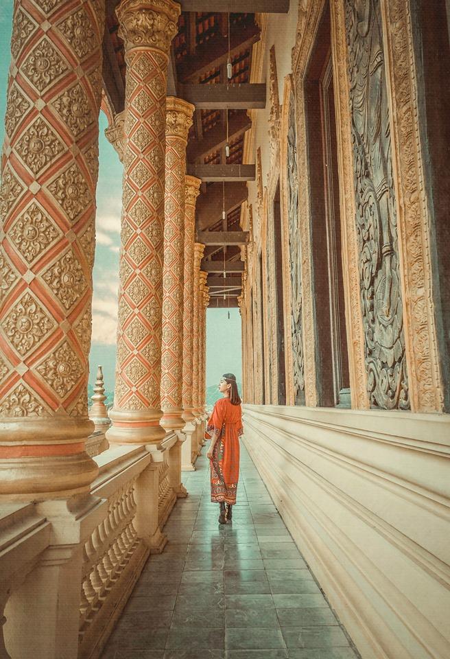 Chùa Khmer và Tháp Chăm tại làng văn hóa 54 dân tộc