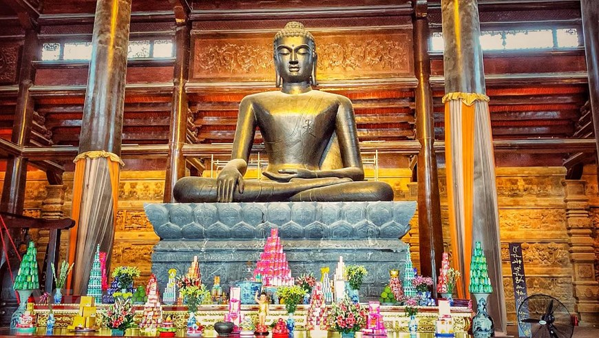 Tượng Phật Thích Ca Mâu Ni - Tam Chúc